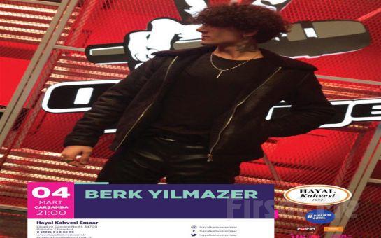 Hayal Kahvesi Emaar Square'da 'Berk Yılmazer' Konser Bileti