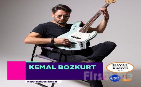 Hayal Kahvesi Emaar Square'da 'Kemal Bozkurt' Konser Bileti
