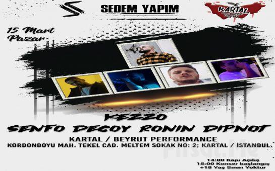 Beyrut Performance Kartal Sahne'de 15 Mart'ta 'Kezzo' Konseri Bileti
