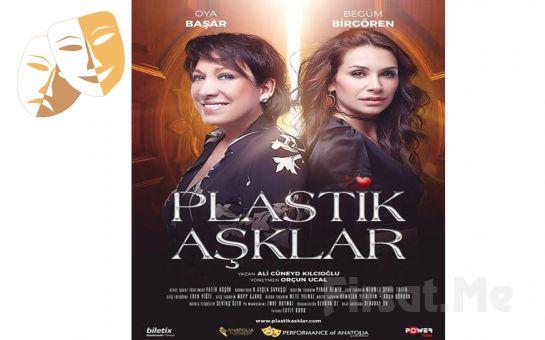 4. Karşıyaka Tiyatro Festivali Kapsamında Oya Başar ve Begüm Birgören'in Oynadığı 'Plastik Aşklar' Tiyatro Oyunu Bileti