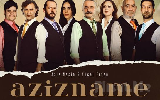 Aziz Nesin'in Ünlü Taşlaması AZİZNAME Tiyatro Oyunu Bileti