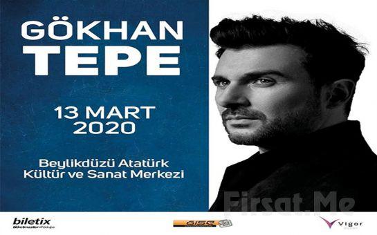 Beylikdüzü Atatürk KSM'de 13 Mart'ta 'Gökhan Tepe' Konser Bileti