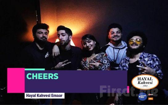 Hayal Kahvesi Emaar Square'da 5 Nisan'da 'Cheers' Konser Bileti