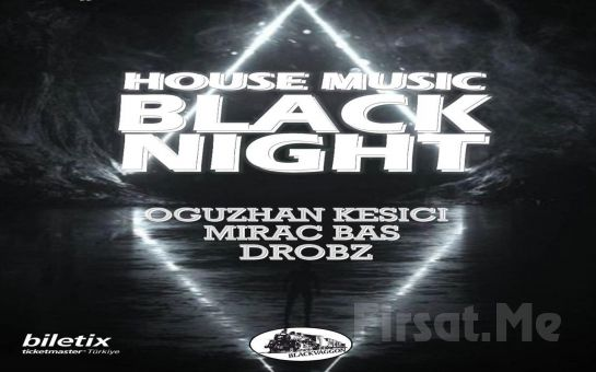 Hayal Kahvesi Emaar Square'da 10 Nisan'da 'Black Night House Music' Konser Bileti