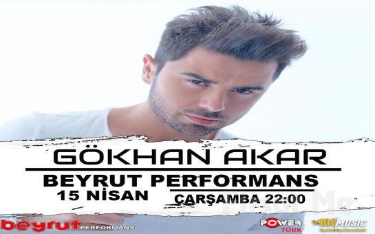 Beyrut Performance Kartal Sahne'de 15 Nisan'da 'Gökhan Akar' Konser Bileti