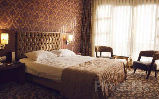 Hotel Suadiye'de Deniz ve Şehir Manzaralı Odalarda 2 Kişilik Konaklama Seçenekleri