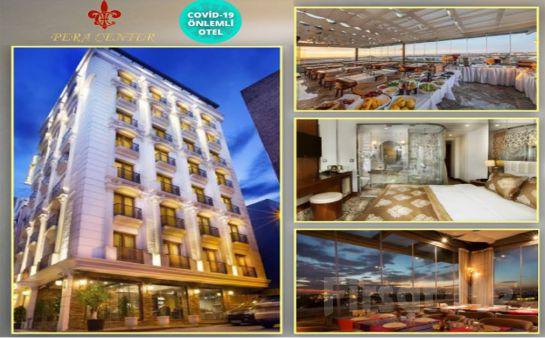 Taksim Pera Center Hotel'de 2 Kişilik Konaklama Seçenekleri