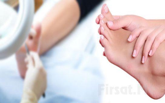 Podonomi Ayak Sağlığı Merkezi Şişli'de Medikal Ayak Bakımı veya Tel Uygulaması