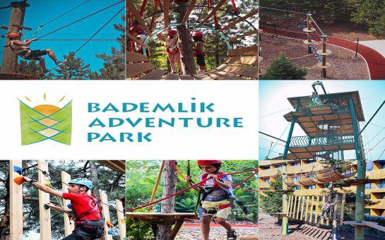 Eskişehir Bademlik Adventure Park'ta Doyasıya Eğlence İçin Macera Park Giriş Bileti