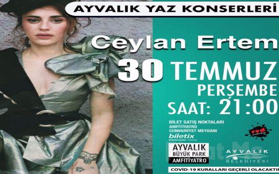 Ayvalık Amfi Tiyatro'da 30 Temmuz'da Ceylan Ertem Konser Bileti