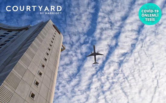 Courtyard by Marriott İstanbul West Hotel Halkalı'da Deluxe Odalarda 2 Kişilik Konaklama Seçenekleri