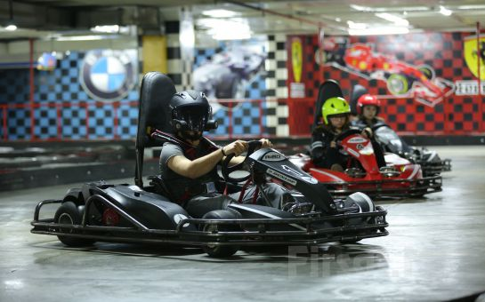 Olimpik Gokart'ta Limitsiz Eğlence için Go-Kart Keyfi