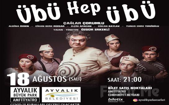 Çağlar Çorumlu'dan Taşlama Komedi 'Übü Hep Übü' Tiyatro Oyunu Bileti