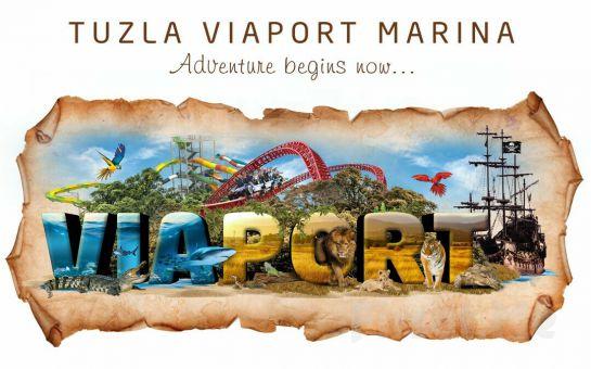 Viaport Marina Tuzla'da Korsan Adası Tema Park, Akvaryum, Aslan Park Biletleri