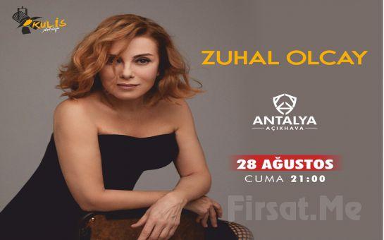 Antalya Açıkhava'da 19 Ağustos'ta 'Zuhal Olcay' Konser Bileti