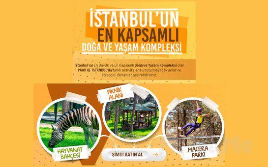 Park Of İstanbul Çekmeköy, Hayvanat Bahçesi Giriş Bileti