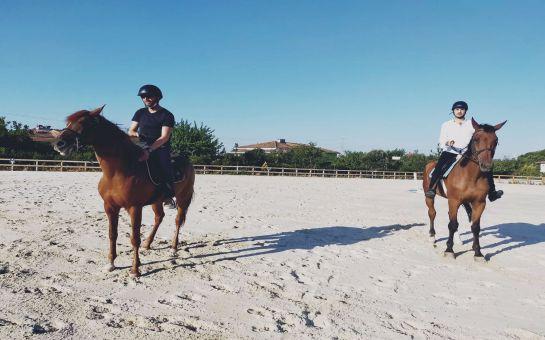 Menderes Atlı Spor Kulübü'nde At Binme ve Binicilik Eğitimi