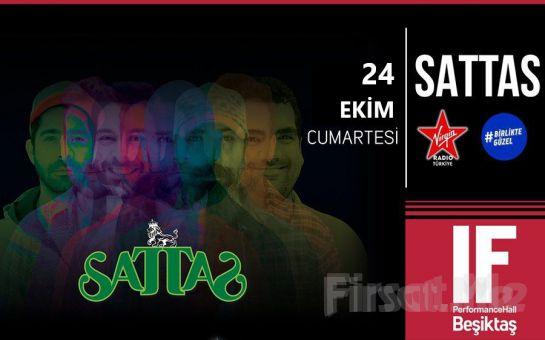 IF Performance Hall Beşiktaş'ta 24 Ekim'de Sattas Konser Bileti