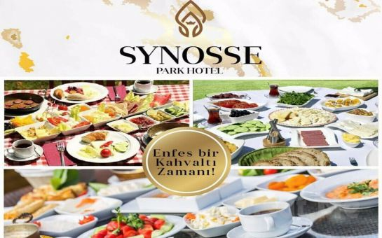 Polonezköy Synosse Park Hotel'de Doğanın Kucağında Serpme Kahvaltı Keyfi 89.90 TL Yerine 59 TL