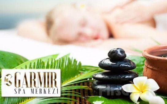 Garmir Spa & Wellness Bayrampaşa'da Islak Alan Kullanımı Dahil Masaj Seçenekleri ve Çiftlere Özel Masaj