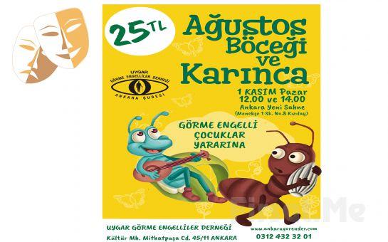 'Ağustos Böceği ile Karıncanın Maceraları' Çocuk Tiyatro Oyununun Bileti