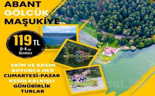 Seyrü Sefa Turizm ile Her Hafta sonu Günübirlik Abant, Gölcük, Maşukiye Turu