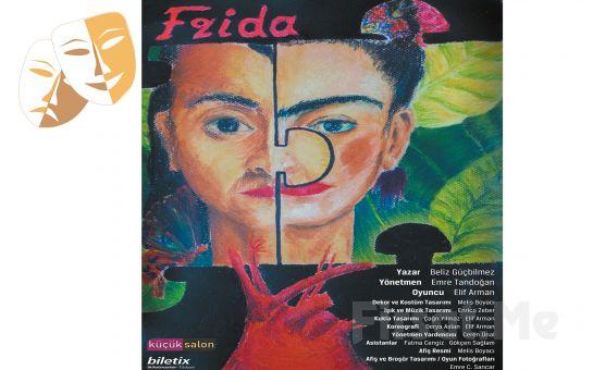 20. Yüzyılın En Önemli Sanatçılarından Frida Kahlo'nun Hayat Hikayesi 'Frida' Tiyatro Oyun Bileti