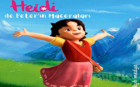 Çocuklarınız için 'Heidi ile Peter'in Maceraları' Tiyatro Oyunu Bileti