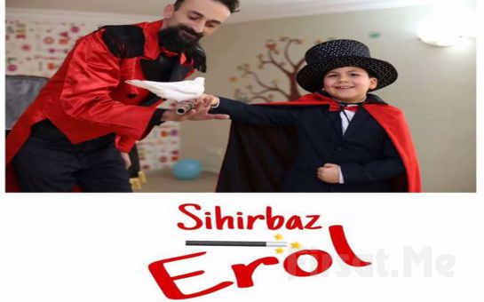 Çocuklarınız için 'Sihirbaz Erol ile İllüzyon Gösterisi' Bileti