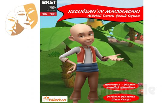 Çocuklarınızın Severek İzleyeceği 'Keloğlan Maceraları' Çocuk Tiyatro Oyunu Bileti