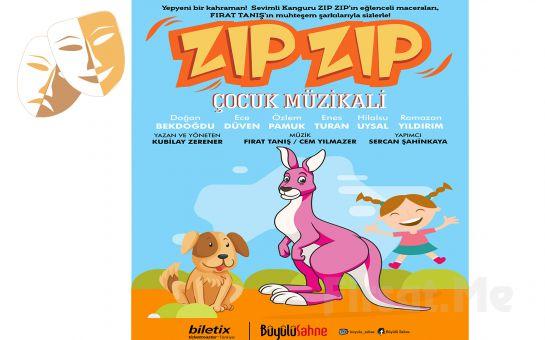 Sevimli Kangurunun Eğlenceli Hikayesi 'Zıp Zıp Çocuk Müzikali' Online Tiyatro Oyunu Bileti