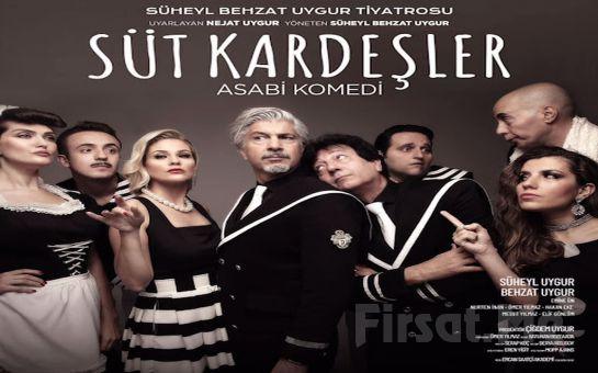 Süheyl ve Behzat Uygur'dan Geleneksel Türk Tiyatrosunun En Eğlenceli Yorumu 'Süt Kardeşler' Tiyatro Oyunu Bileti