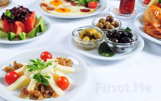 Bahçeşehir Şehr-i Bahçe Cafe Restaurant'ta Sınırsız Çay Eşliğinde Nefis Tatlardan Oluşan Çift Kişilik Serpme Kahvaltı Keyfi