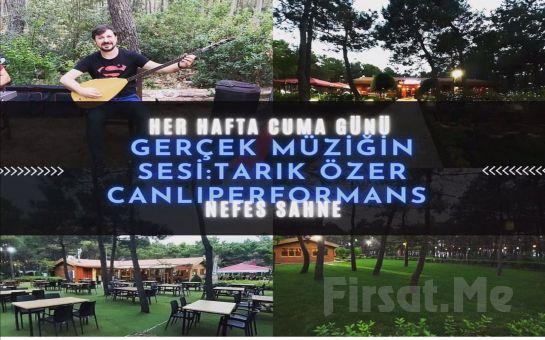 Samandra Nefes Cafe ve Restaurant Sancaktepe'de Her Cuma Fix Yemek veya Aperatif Menüleri Eşliğinde Canlı Müzik Keyfi