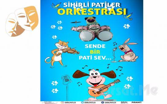 Çocuklara Hayvan Sevgisini Eğlenceli Şekilde Anlatan 'Sihirli Patiler Orkestrası' Çocuk Tiyatro Bileti
