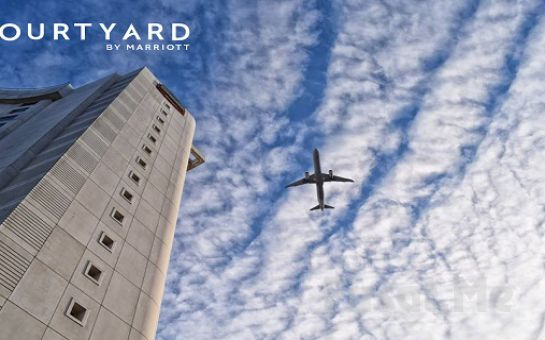 Courtyard by Marriott İstanbul West Hotel Halkalı'da Deluxe Odalarda 2 Kişilik Konaklama Seçenekleri ve SPA Merkezi Kullanımı