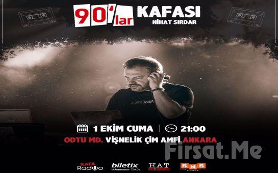 Ankara Vişnelik Çim Amfi'de 1 Ekim'de' '90'lar Kafası Nihat Sırdar' Konser Bileti