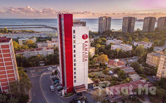 Ataköy Ramada Hotel & Suites By Wyndham İstanbul Hotel'de Açık Büfe Kahvaltı ve Spa Kullanımı Dahil 2 Kişilik Konaklama