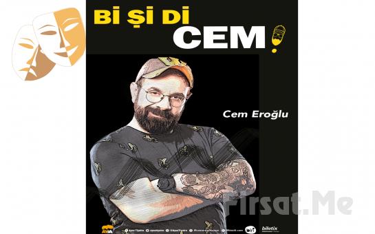 Bir Haytanın Hayatından Kesitler 'Bi Şi Di Cem - Cem Eroğlu' İnteraktif Stand-up Gösterisi Bileti