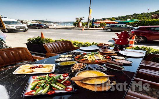 Marina Lounge İstinye'de Deniz Manzarası Eşliğinde Serpme Kahvaltı Keyfi