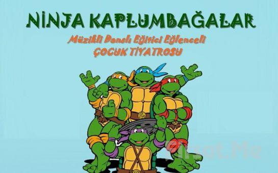 Eğlenceli ve Öğretici 'Ninja Kaplumbağalar' Çocuk Tiyatro Oyunu Bileti