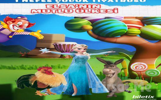 Çocuklarımızın Güzeller Güzeli Kahramanı İle 'Elsa'nın Mutlu Ülkesi' Çocuk Tiyatro Bileti