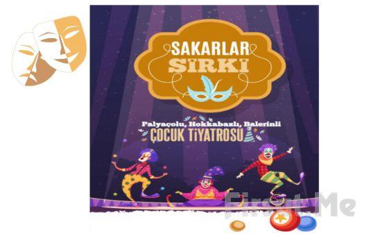 Eğlenceli ve Öğretici 'Sakarlar Sirki' Çocuk Tiyatro Oyunu Bileti