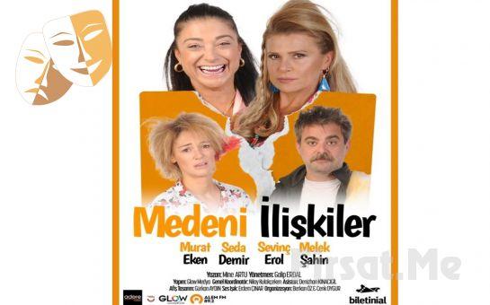 Anne, Gelin, Kaynana İlişkileri üzerine Aile Komedisi 'Medeni İlişkiler' Tiyatro Oyunu Bileti