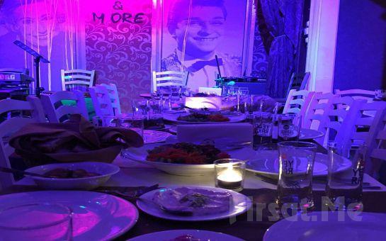 Kadıköy More & More Meyhanesi'nde Sevgililer Gününe Özel Canlı Müzik Eşliğinde Leziz Yemek Menüsü!