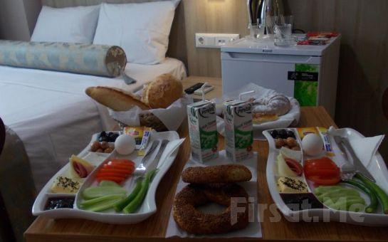 Üsküdar Serra Boutique Otel'de 2 Kişi 1 Gece Konaklama, Kahvaltı Fırsatı