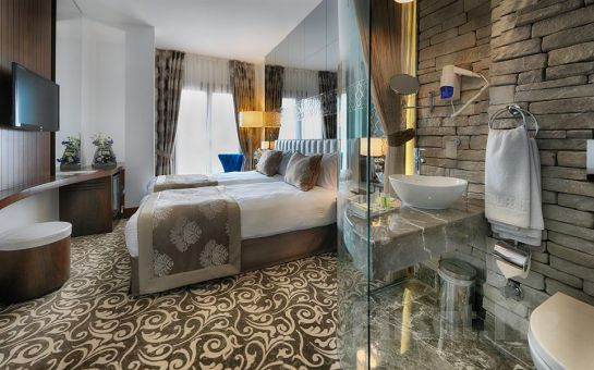 Taksim Life Plus Hotel'de 2 Kişi 1 Gece Konaklama, Kahvaltı, Spa Keyfi
