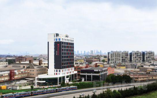 Ramada Encore İstanbul Bayrampaşa'da 2 Kişi 1 Gece Konaklama Keyfi, Kahvaltı Seçeneğiyle