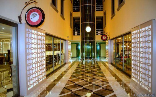 İzmir Comfort Hotel'de 2 Kişi 1 Gece Konaklama, Kahvaltı Keyfi