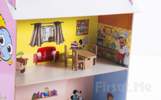 2A Oyuncak'tan Çocuklarınız için Katlanabilir Ahşap Oyuncak Ev!